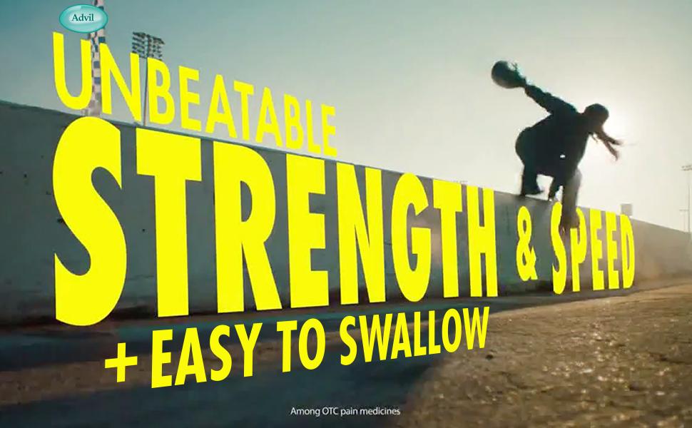 unbeatable strength amp; speed + easy to swallow