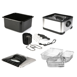 easy to clean and assemble deep fryer