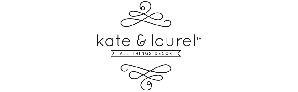 kate and laurel home decor decorative accent mirrors wall art rustic side table modern mid-century