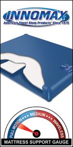 InnoMax Genesis 400 Hardside Waterbed Mattress
