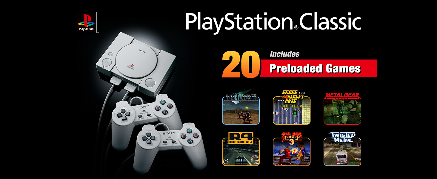 Amazon com: PlayStation Classic: Video Games