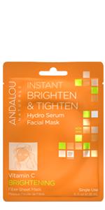 Brighten & Tighten Hydro Serum Facial Mask