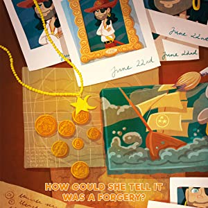 Kids book puzzle riddle mystery graphic novel chapter book for children 8-12 boys girls adventure