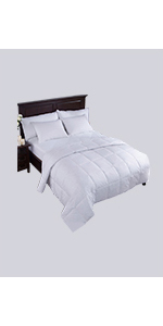 8fd61dd7ee Amazon.com  puredown Lightweight Natural White Down Blanket for ...