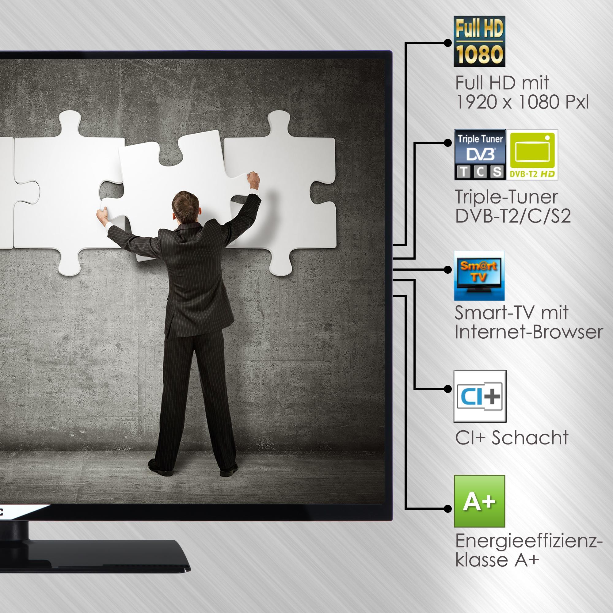 JVC LT-40V54JF 102 cm (40 Zoll) Smart Fernseher (Full HD