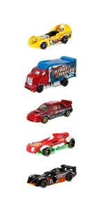 Hot Wheels 5-car pack