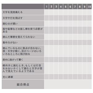 発達障害 チェックリスト