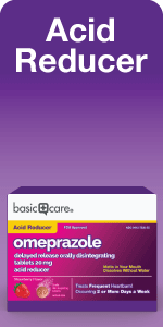 Acid Reducer Omeprazole orally disintegrating tablets package