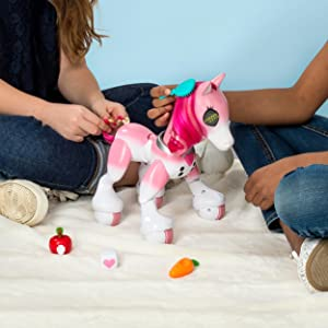 6bfd79e88d8 Buy Zoomer - Show Pony with Lights, Sounds and Interactive Movement ...