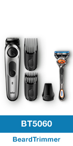 Braun BT5060 Beard Trimmer, Shaver