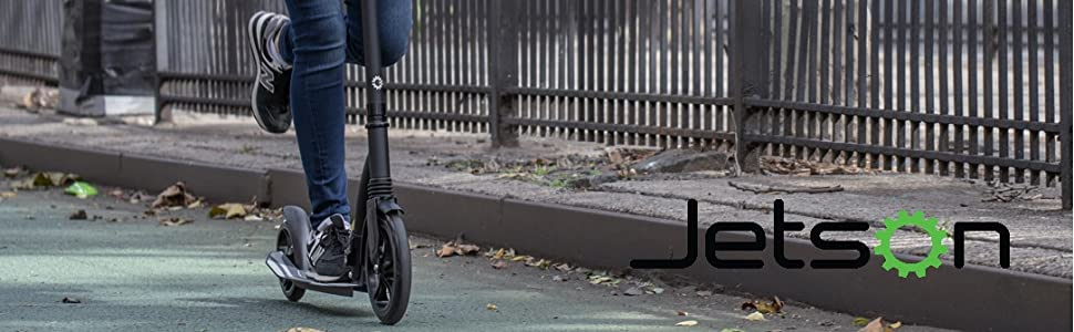 Amazon.com: Jetson - Patinete plegable de medianoche con ...