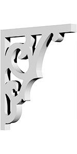 urethane bracket, decorative bracket