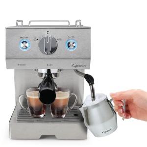 espresso machine, capresso, best espresso, coffee, coffee beans, grinder, frother, froth, filters