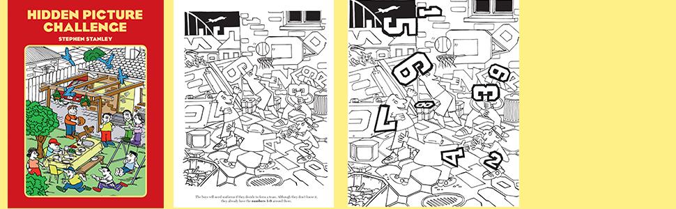puzzles, children's activity books, hidden picture, wildlife, games, coloring books, childrens books