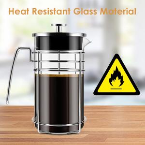The Impeccable Heat Borosilicate glass for superior thermal retention