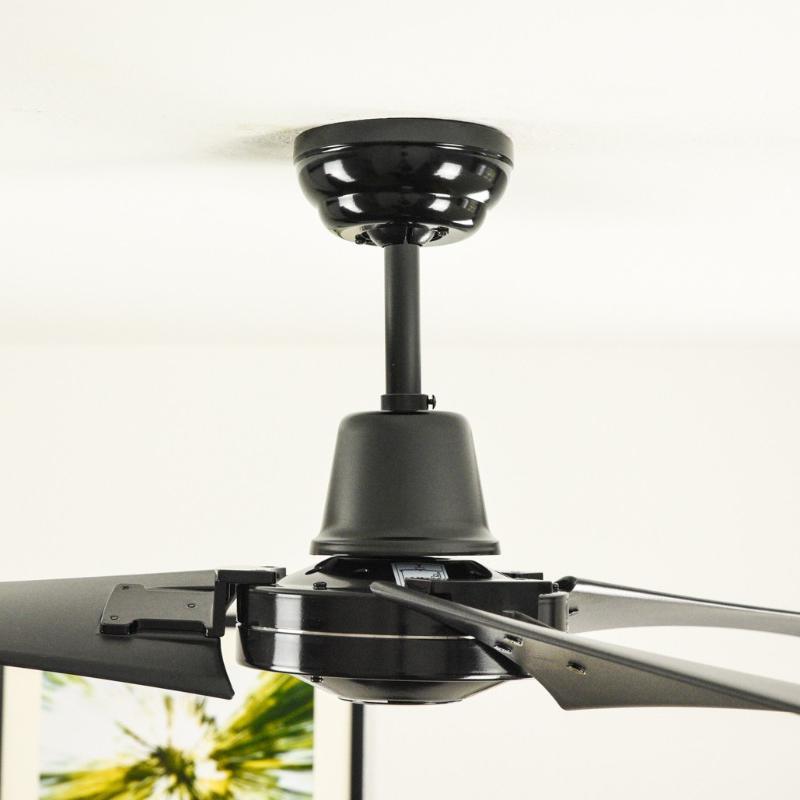 Pepeo vourdries ventilador de techo de dise o industrial - Ventilador de techo con mando a distancia ...