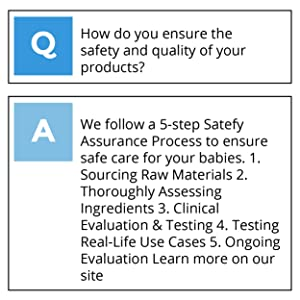 How do you ensure the safety and quality of your products?
