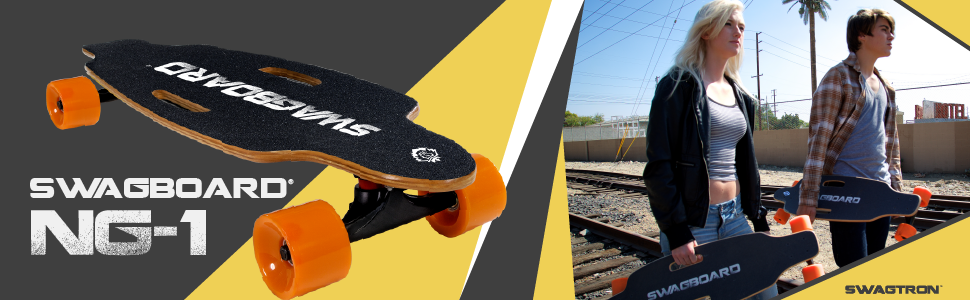 ul certified motorized electric skate board skateboard long longboard swagtron boosted powered swag