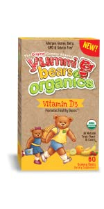 organic gummy vitamin D3 fruit pectin