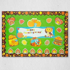borders, acorns, pumpkin, pumpkin border, fall classroom decor, halloween classroom decoration