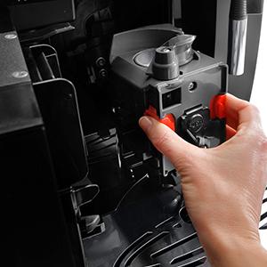 Coffee machine brewing unit