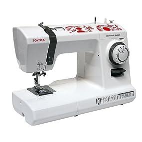 TOYOTA ECO26C Maquina para coser, color rojo