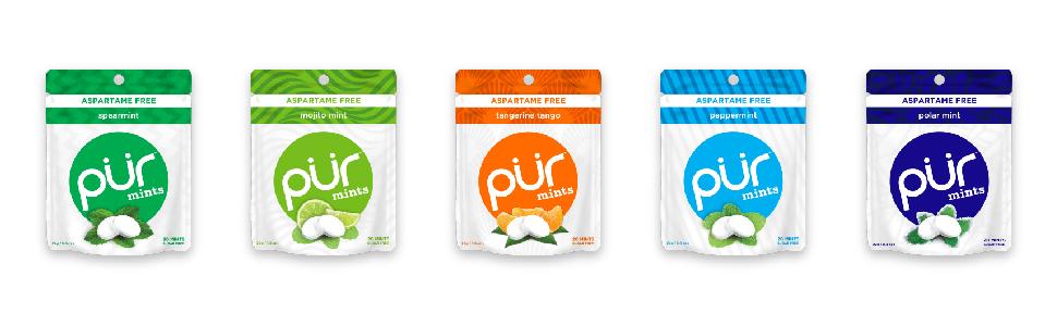 mints pur clean vegan keto diabetic pregnant healthy xylitol