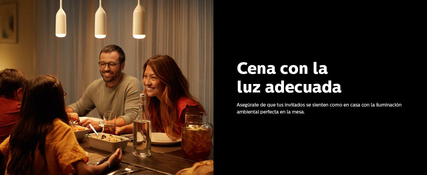 Comer con la luz adecuada