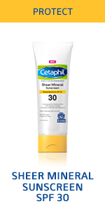Sheer mineral sunscreen SPF 30