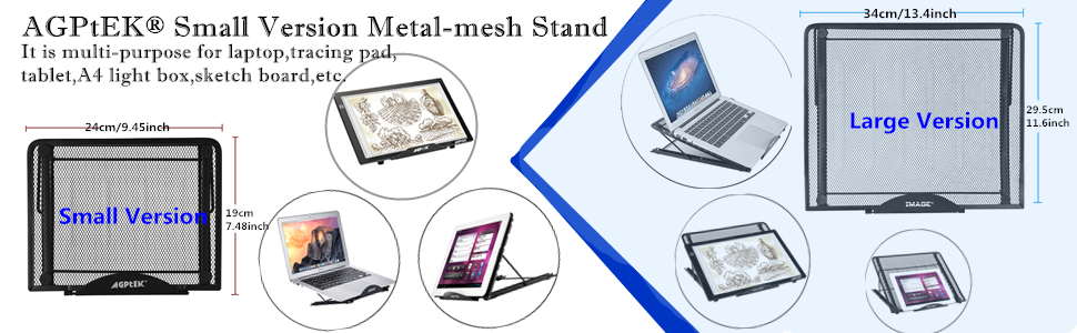 adjustable laptop iPad stand gaming laptop stand huion litup light box tracing boards Stands