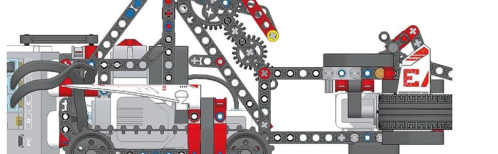 Lego Ev3 Roboter Bauen Und Programmieren Mit Lego Mindstorms Ev3