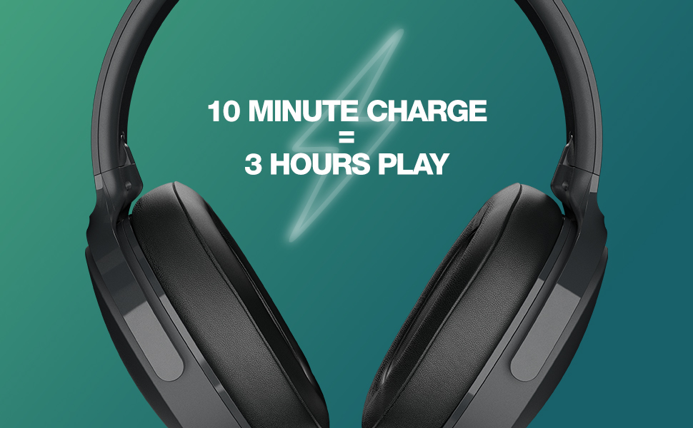 Hesh ANC - 10 minutes charge = 3 hours play