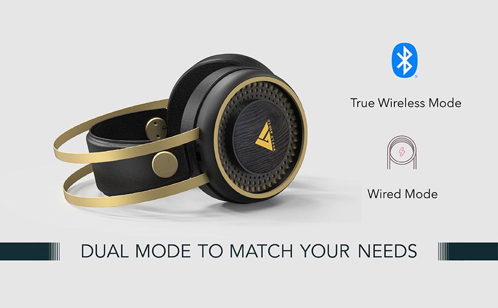 Over ear bluetooth headphone