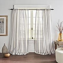 Elrene Home Fashions Hampton Window Curtain Sheer Collection