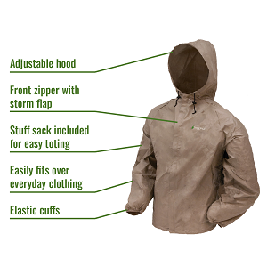 ef75a0f049 Amazon.com : Frogg Toggs Ultra-Lite2 Water-Resistant Breathable Rain ...