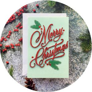 Hallmark, Memo Pads, christmas cards