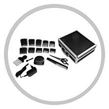 Remington HC5810 Genius - Máquina de Cortar Pelo, Cuchillas de Cerámica, Recargable, 10 Peines, Prestaciones Profesionales, Color Negro: Amazon.es: Salud y cuidado personal