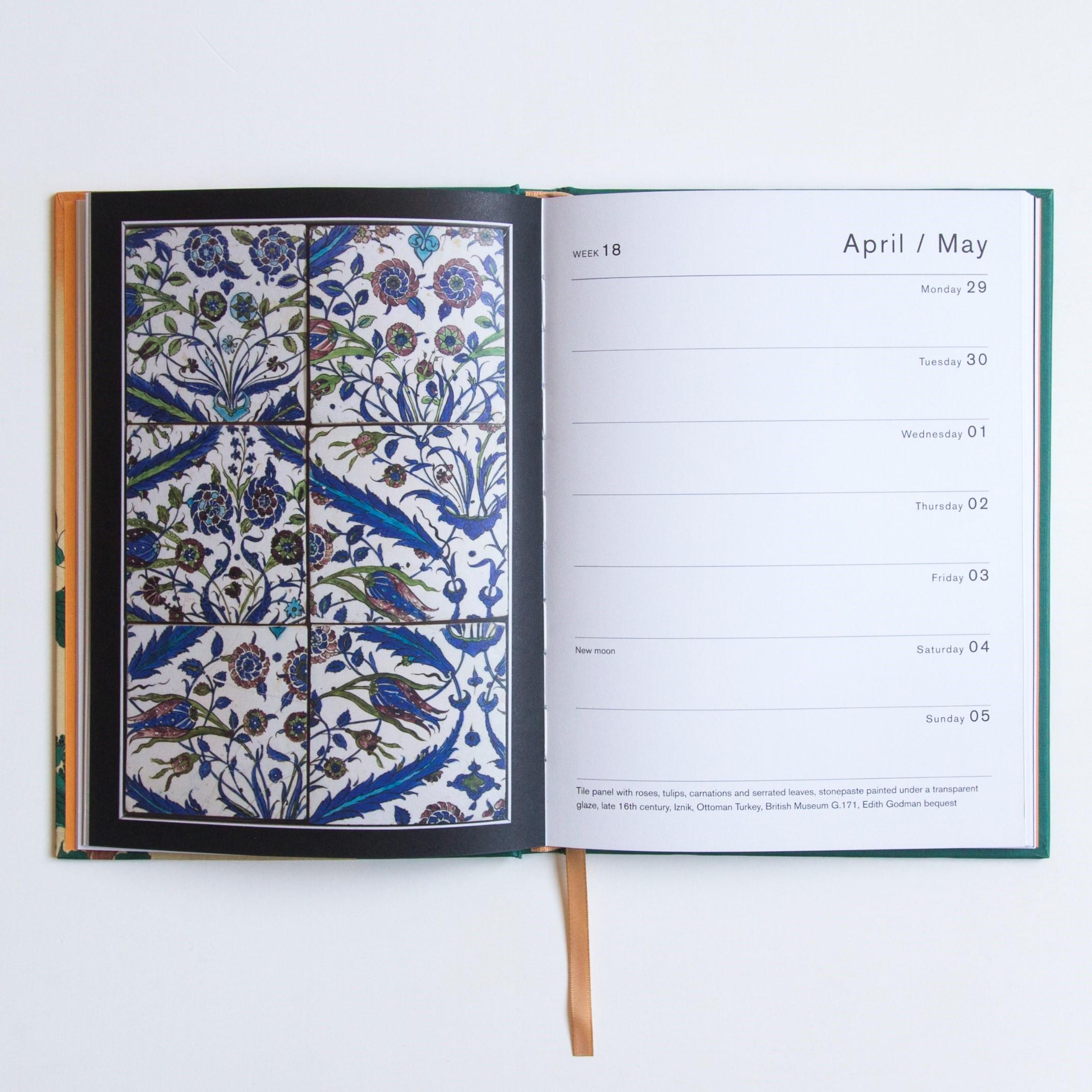 british museum pocket diary 2019  british museum