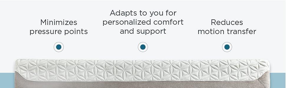 Amazon Com Tempur‐cloud Prima Medium Soft Mattress