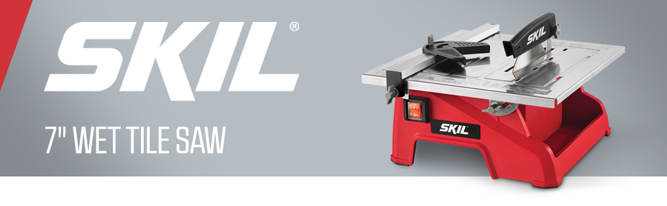 SKIL, benchtop, wet tile saw, tile cutter