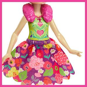 Mattel Enchantimals Lorna Lamb Doll with Sheep Figure