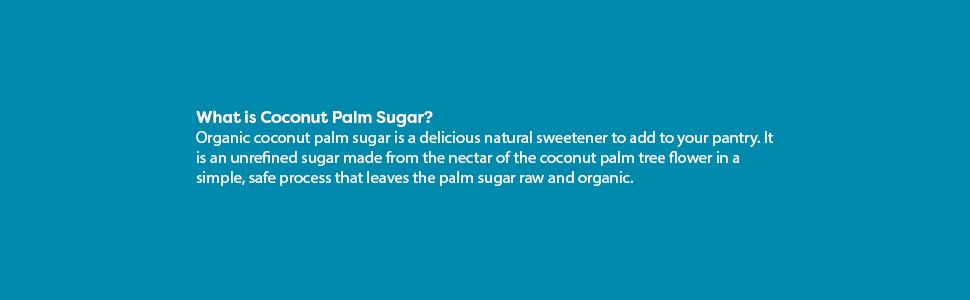 Unfrefined coconut sugar