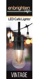 Enbrighten Caf 233 Led String Lights 18 Ft 9 Lifetime