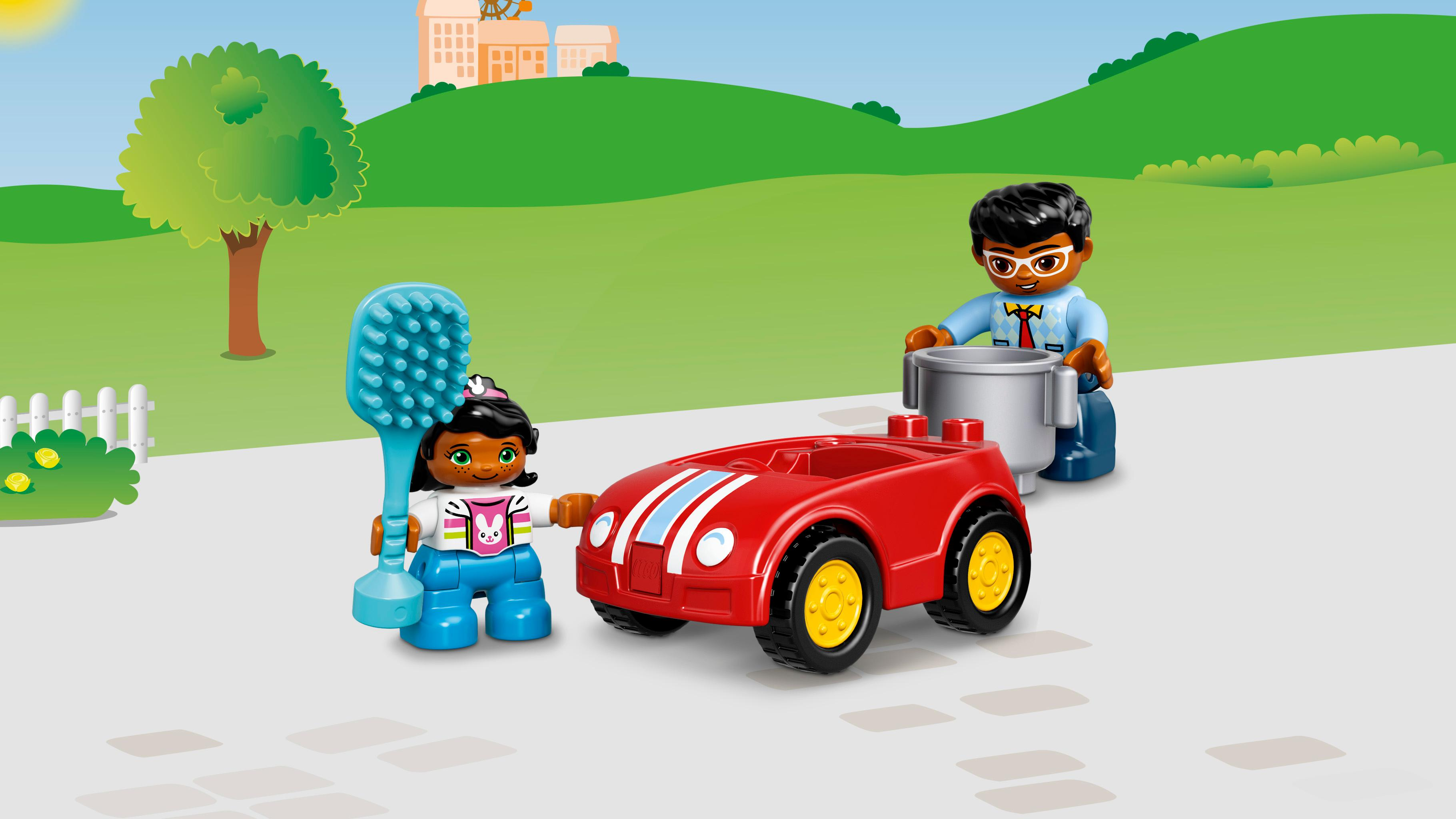 Lego duplo familienhaus kleinkind spielzeug ab
