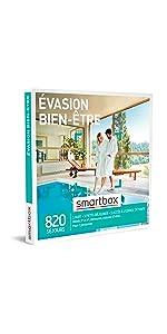 Évasion bien-être coffret box cadeau Smartbox