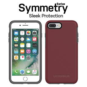 newest collection 1e9b0 42a66 OtterBox SYMMETRY SERIES Case for iPhone 8 Plus & iPhone 7 Plus (ONLY) -  Frustration Free Packaging - BLACK