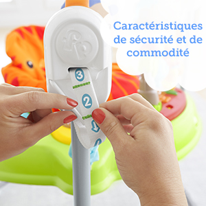 Fisher-Price - Jumperoo Jungle Sons Lumieres