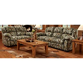 Enjoyable Amazon Com Cambridge 98507Drl Ca Camo Double Reclining Love Onthecornerstone Fun Painted Chair Ideas Images Onthecornerstoneorg