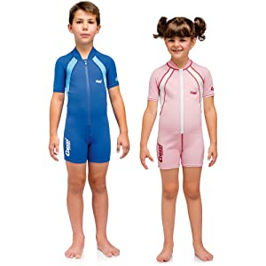 Kids mar traje shorty snorkeling niños niñas cressi snorkeling inmersion playa