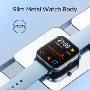 Slim Metal Body Watch